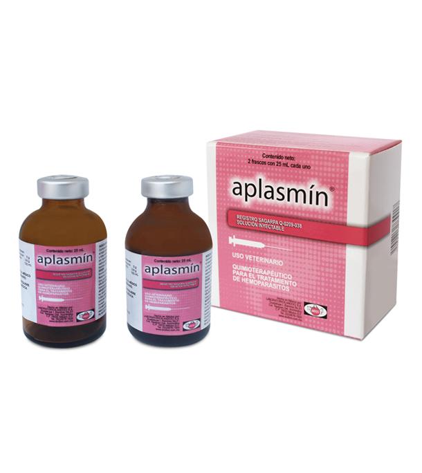 Aplasmin, caja 2 x 25 ml