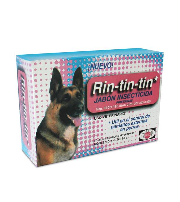 Rin Tin Tin jabón insecticida 80 g