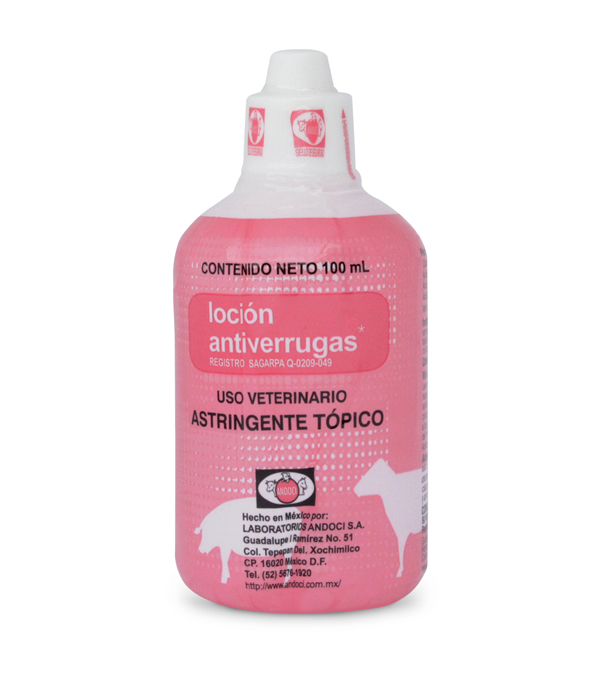 Loción antiverrugas 100 ml