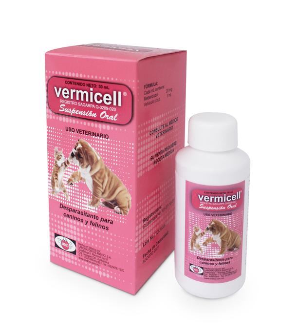 Vermicell Suspensión 50 ml
